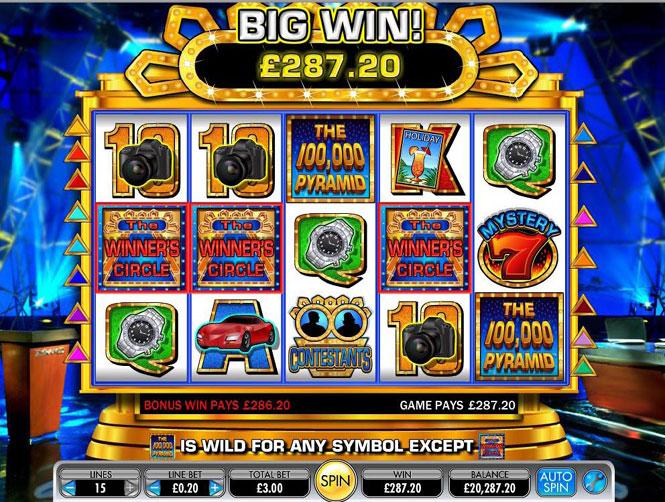 100000 Pyramid Slot smbls