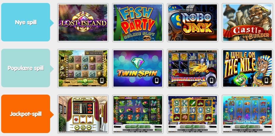 Liste over Microgaming spilleautomater – Spill gratis