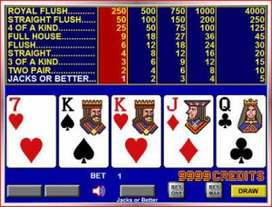 video poker Jacks