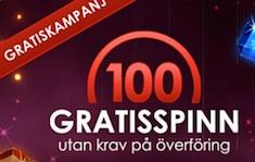 Sverigecasino free spins bonus