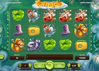 Spela Tornado: Farm Escape spelautomat på nätet på Casino.com Sverige